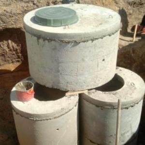 Септики из бетонных колец, доставка и монтаж. Закажите установку септика
